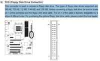 GA-870A-UD3 - 2 stacje dyskietek na 1 kontrolerze FDD. Da si� to zrobi�?