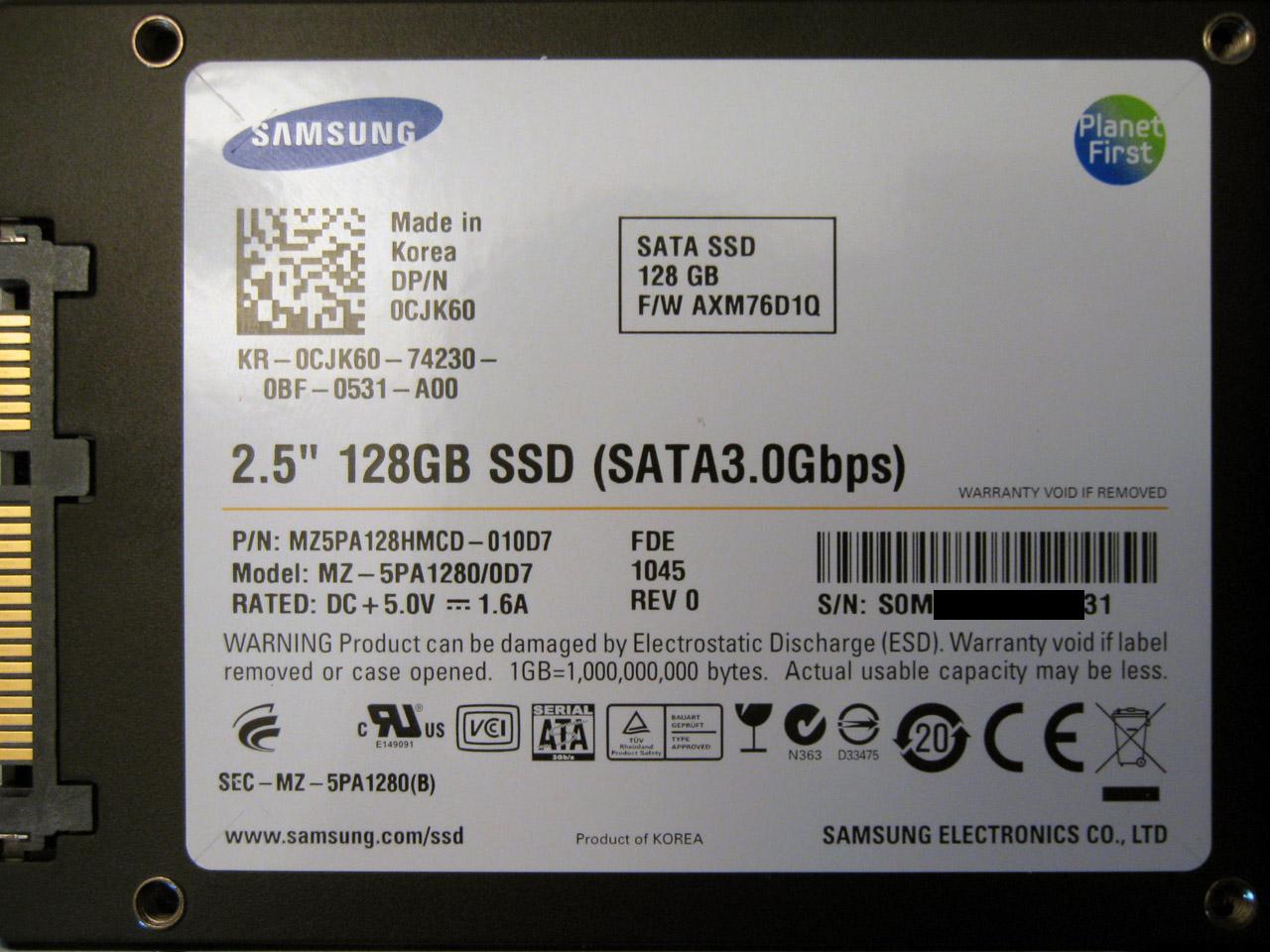 SAMSUNG SSD PM810 WINDOWS 7 X64 DRIVER