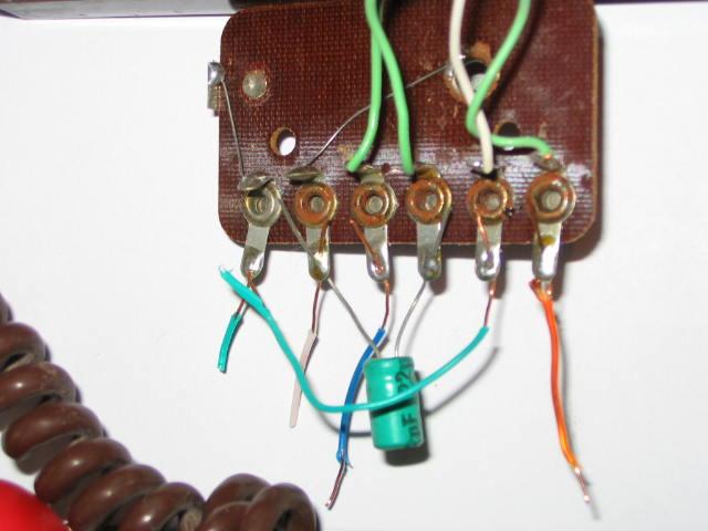 wymiana słuchawki w domofonie 4 przewododwym