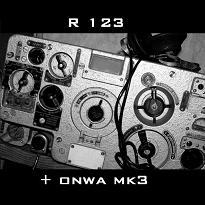 Radiostacja R123 + CB-radio ONWA MK3