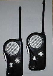 Naprawa walkie-talkie ze zdjęcia.