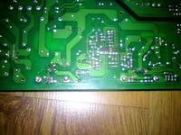 Dell 2407WFPb uszkodzona przetwornica