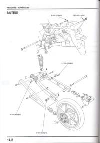 Komplikacja z dokręceniem koła CBR 125