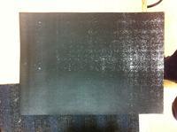 HP LaserJet 1320 - Cała czarna kartka po wymianie Fusera