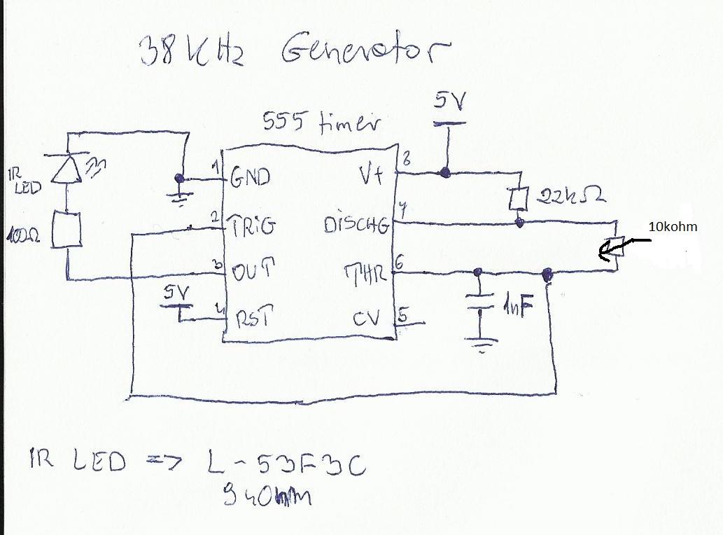 Generator 555 brak regulacji.