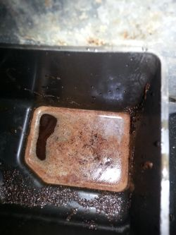 Ekspres Bosch TES50129RW - woda w fusach, słaba kawa