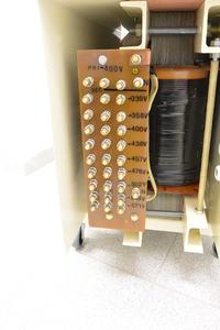 Transformator oddzielający T304 3~ -System wyjścia