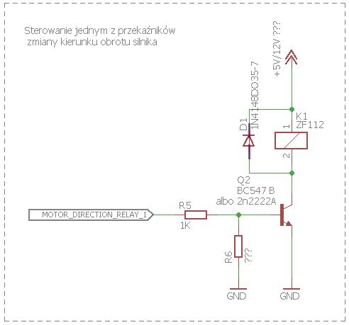 Sterownik silnika DC - regulacja prędkości + zmiana kierunku