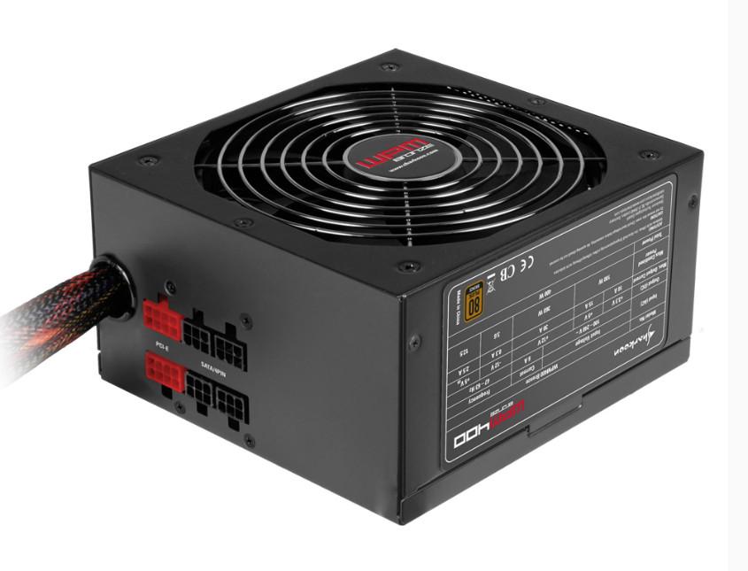 Sharkoon WPM Bronze - nowa seria zasilaczy ATX o mocy od 400 do 700 W