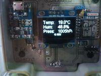 Czujnik warunków atmosferycznych WiFi.