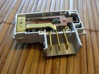 pralka Candy CTH127 - modu zamykania (ryglowanie zamka)