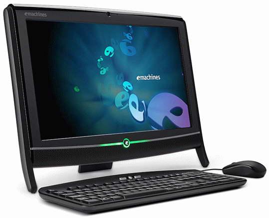 Acer EZ1800 - nowy komputer AIO z serii eMachines