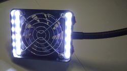 Pochłaniacz oparów lutowniczych z podświetleniem LED