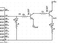 MAX7219 + tranzystory zwiększjące obciążenie