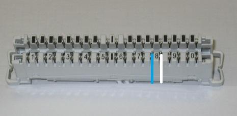 Urwany kabel telefoniczny ( Puszka TP - Dom )