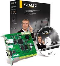 [Sprzedam] Satel Stam-2BE - Zestaw monitoruj�cy alarmy/Stacja monitorowania 2990