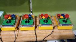 Joystick - Arcade Stick do Commodore lub Amiga