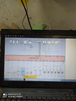 volvo fh/renault - wyprowadzenia czujnia ciśnienia oleju i temperatury
