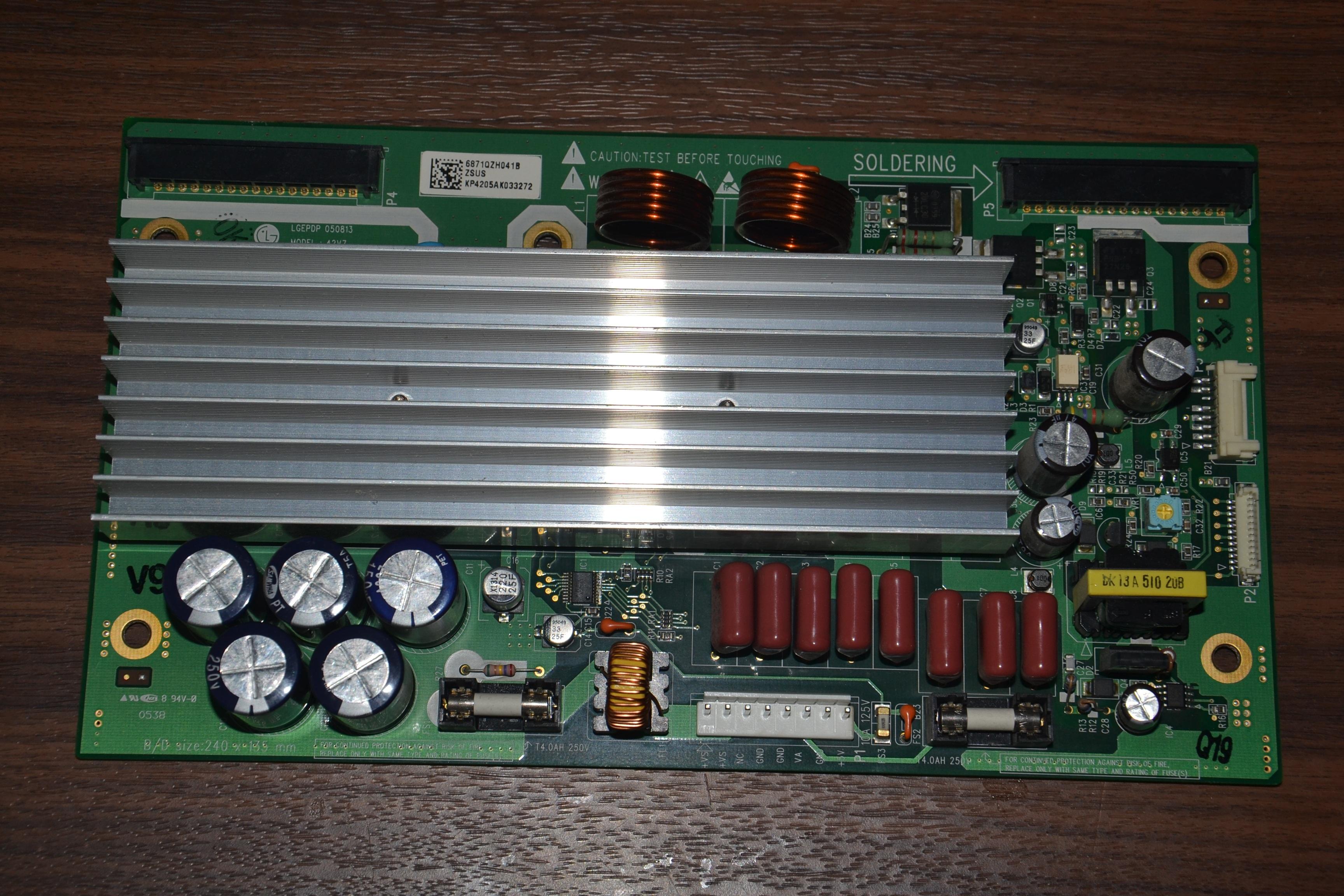 [Sprzedam] Z-SUS LG 42V7 PDP42V7 6871QZH041B 42PX4RV