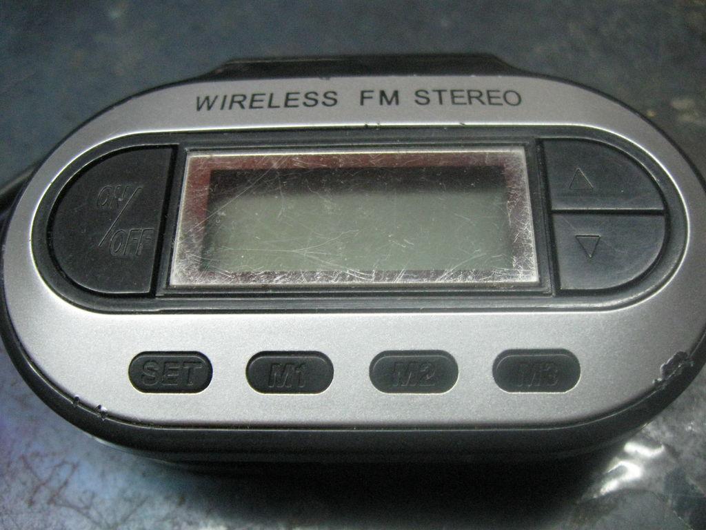 Modyfikacja transmitera FM