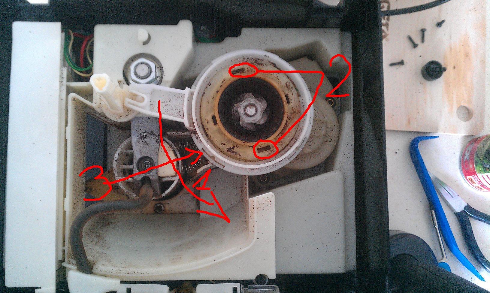 Krups EA 8010 - nie zaparza kawy