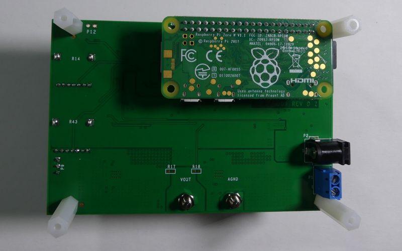 Zasilacz warsztatowy z RPi Zero - CN0508 od Analog Devices - uruchomienie, test