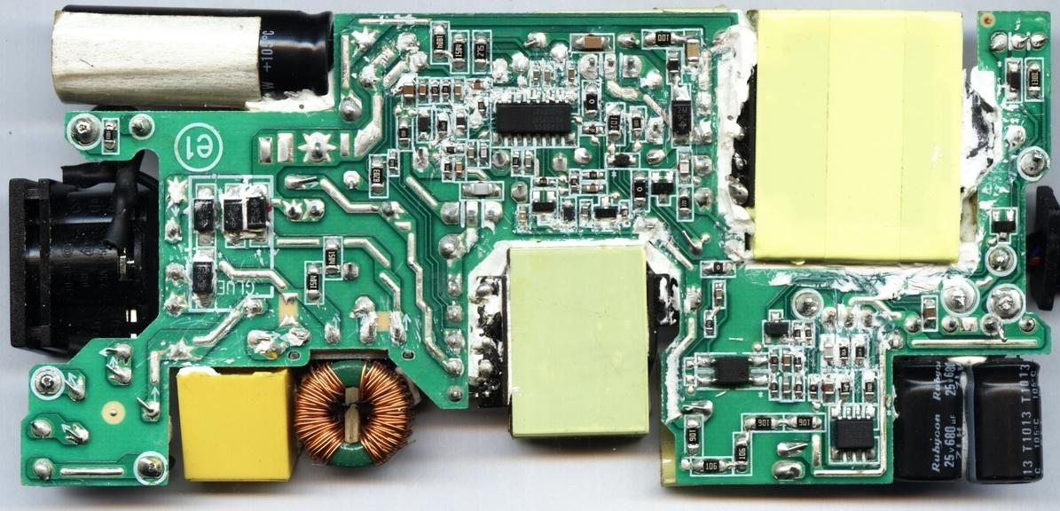 Dell famili PA-3E model DA90PE0-00 - identyfikacja uszkodzonego elementu FL2 ?