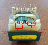 Mikrofalówka Whirlpool VIP34 - spalona po awarii w sieci energetycznej