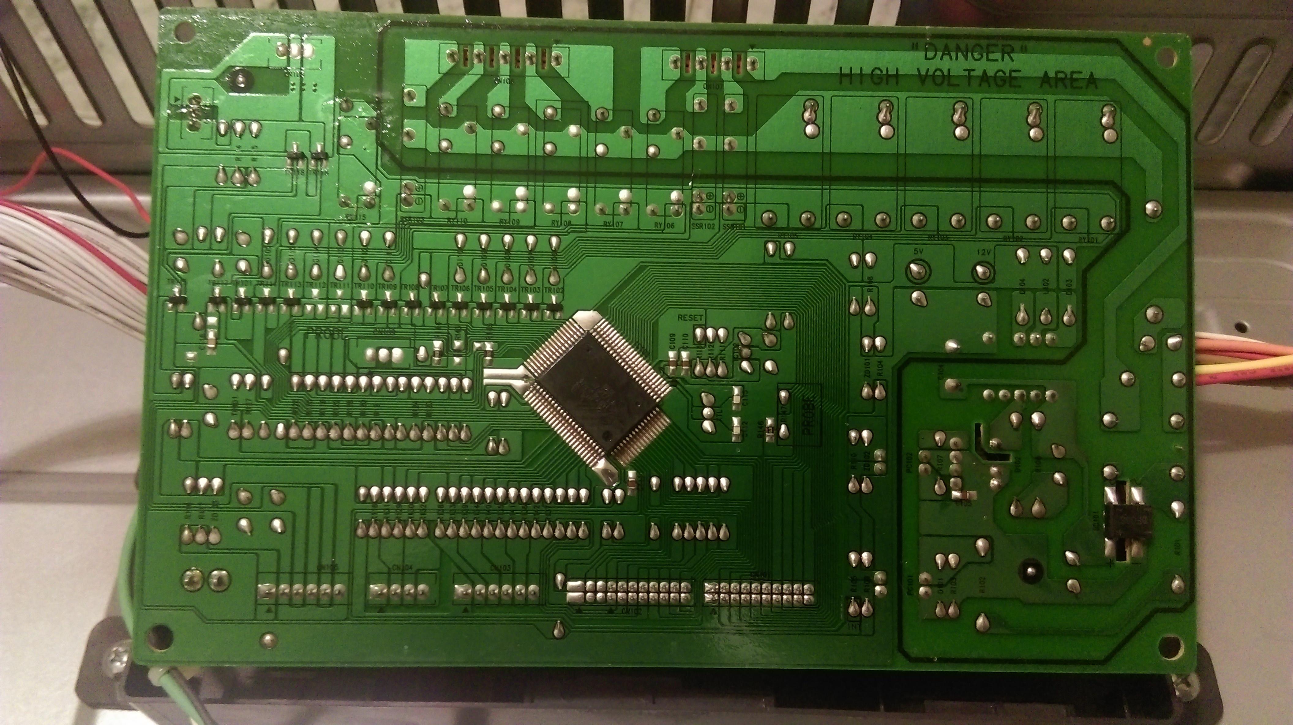 Bardzo dobra Piekarnik Samsung BT62TDBCT - przestał działać - elektroda.pl ZC12