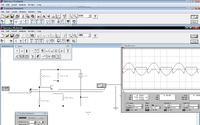 Wzmacniacz w Electronics Workbench, kłopot z sygnałem wyjściowym