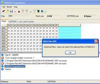 Błąd identyfikacji procesora Atmega8 BASCOM