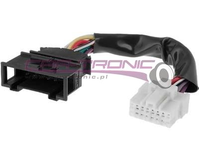 Seat Leon 1.9 TDI - pod��czenie zmieniarki Panasonic DP9060 do Radia Aura