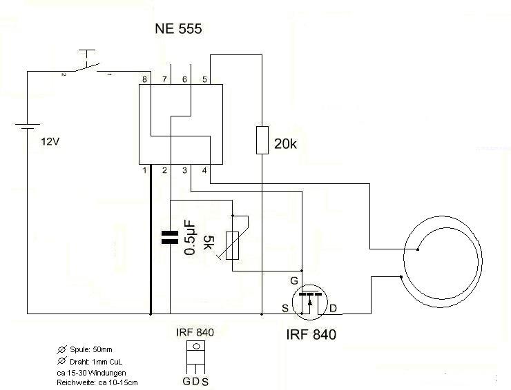 emp generator schematic  | elektroda.pl