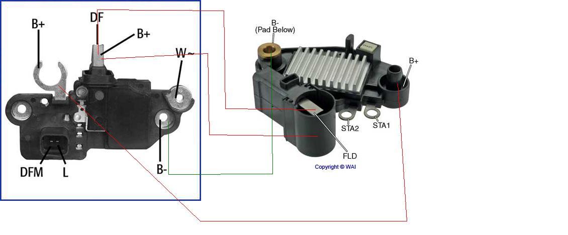 Alternator BOSH Seat Leon 1.9 TDI / Regulator napi�cia VALEO Renault Megane 1.6