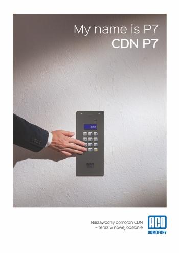 Przed Państwem nowy domofon wielomieszkaniowy CDNP7!