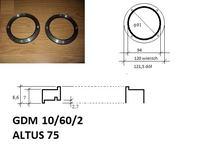 Proszę o wymiary do toczenia pierścieni ozdobnych altus 75