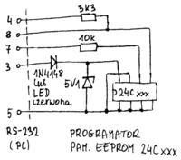 Atmega8 - by móc programować 24C08