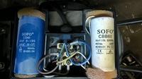 Kompresor Meec (Jula) - kondensatory... skąd wziąć..?