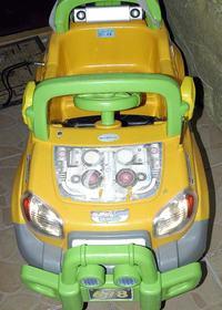 Samochód zabawka przeróbka zasilania oraz napędu