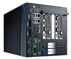 RCX-1540 PEG - komputer edge AI z Coffee Lake i do 11 wyjść obrazu