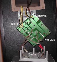 Jak poprawić brzmienie średniotonowego w kolumnie VK 8050