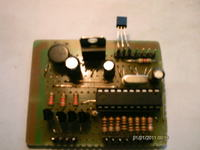 Zegar termometr ATtiny 2313