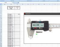 Excel - formuła kopiująca wartośc z komórki do zanaczonej