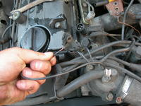 Mercedes W124 2.3 M102 KE-Jetr - Wysokie spalanie, b��d czujnika temperatury