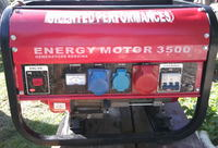 Agregat prądotwórczy, wyciekł olej z silnika(4T) w czasie transportu. Co teraz?