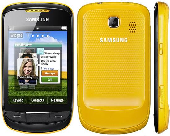 S3850 Corby II - nowy smartphone od Samsunga