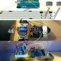 Platforma mobilna arduino IR i zak��cenia.