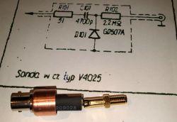 Samoróbka - sonda typ V4025