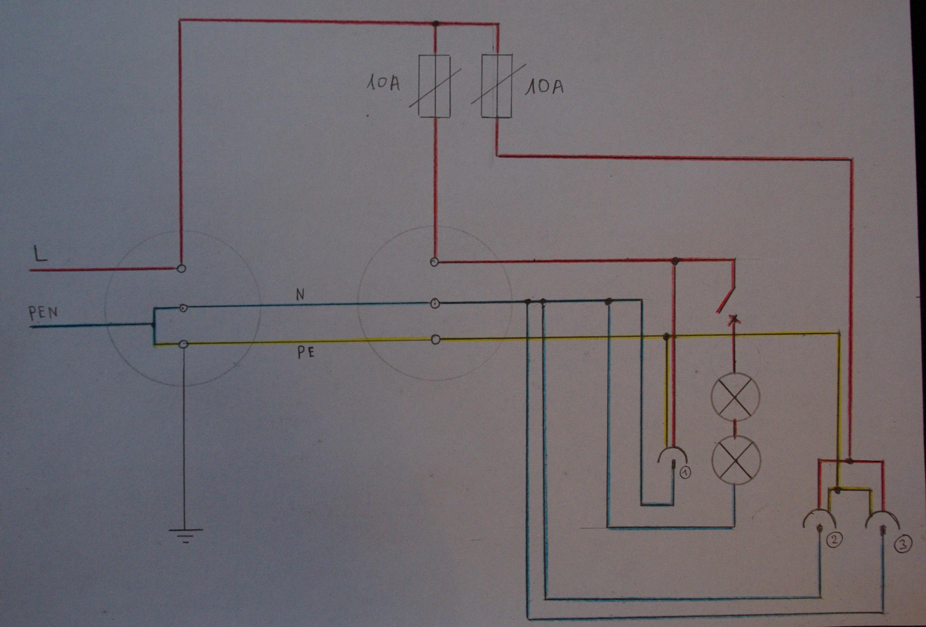 Pro�ba o ocen� mini instalacji elektrycznej