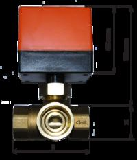 Układ dogrzewania gazem ciepłej wody użytkowej z bojlera